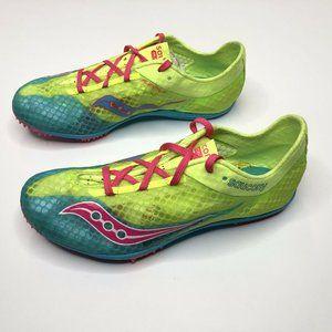 Saucony Endorphin Womens Running Shoes 6 Yellow